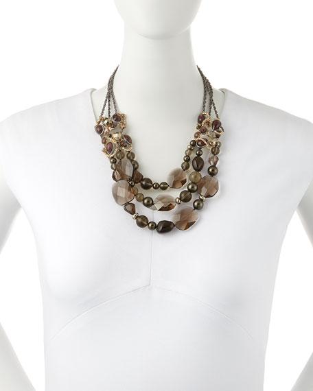 Elements Triple-Strand Necklace