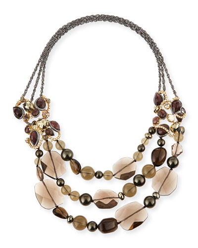 Elements Triple-Strand Necklace