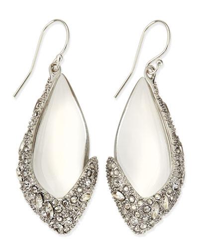 Alexis Bittar Asymmetric Lucite Drop Earrings