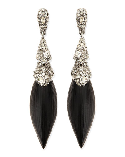 Alexis Bittar Articulating Lucite Post Earrings