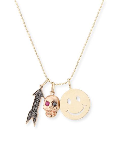 HAPPY CHARM NECKLACE