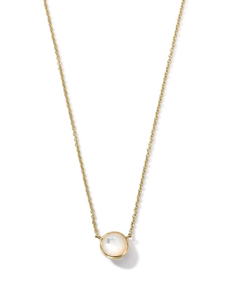 Ippolita 18K Gold Mini-Lollipop Birthstone Necklace (June), 16-18
