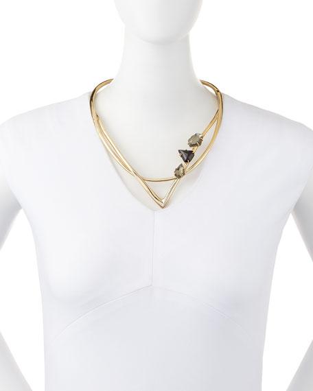 Miss Havisham Geometric Hinged Collar Necklace