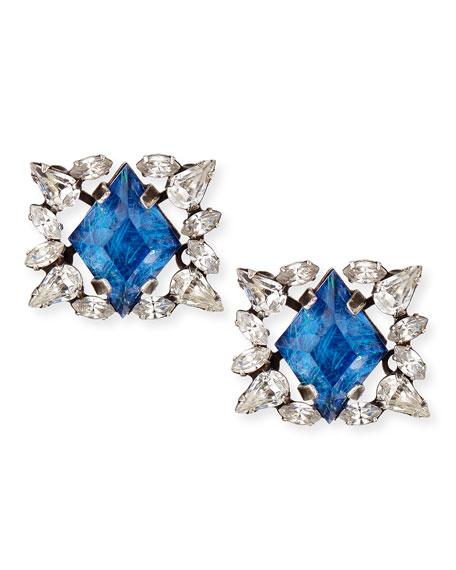 Bri Crystal Stud Earrings