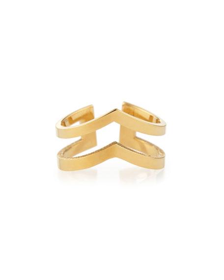 Mabel 18k Gold Vermeil Midi Ring
