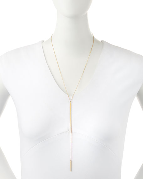 Paloma 18k Gold Vermeil Lariat Necklace