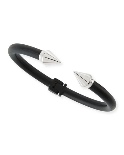 Titan Mini Two-Tone Bracelet, Black/Silver