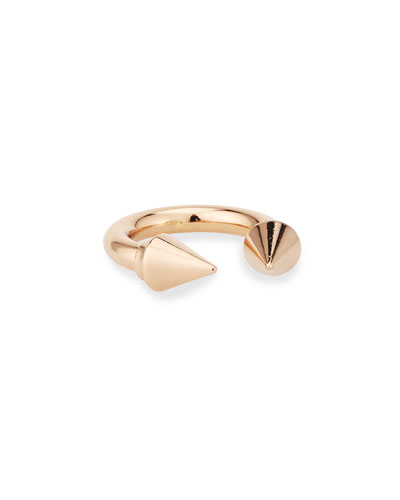 Titan 24k Rose Gold-Plated Ring