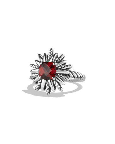 Starburst Ring with Garnet