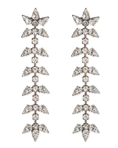 Ariel Linear Crystal Earrings