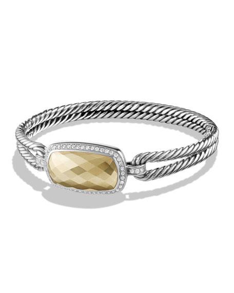 David Yurman Albion Bracelet with Gold and Diamonds