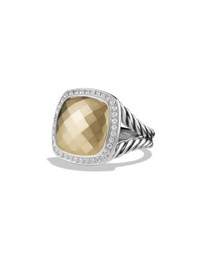 Albion Ring with Gold and Diamonds