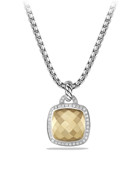 David Yurman Albion Enhancer with Gold and Diamonds