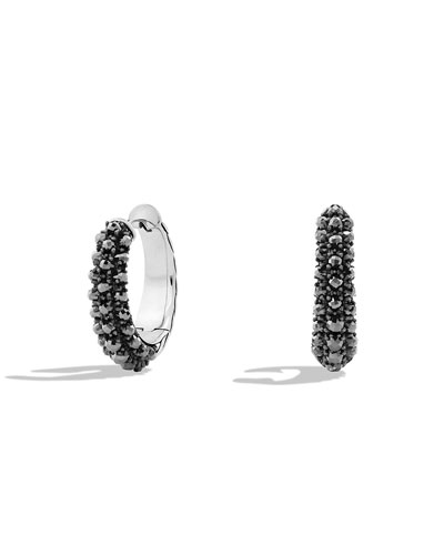 Ostera Hoop Earrings with Hematine