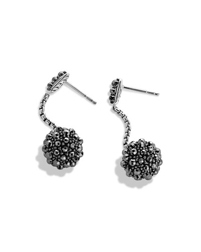 Ostera Drop Earrings with Hematine