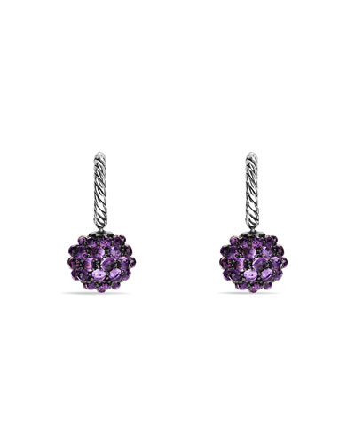 Ostera Earrings with Amethyst