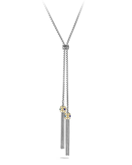 David Yurman Renaissance Tassel Necklace with Gold