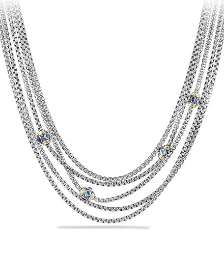 David Yurman Renaissance Toursade Necklace with Gold