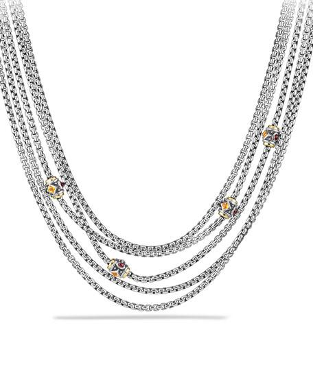 Renaissance Toursade Necklace with Gold