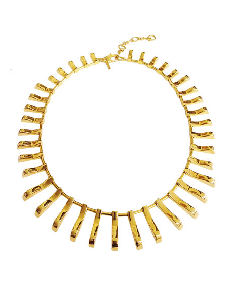 Arcade 14k Gold-Plated Necklace