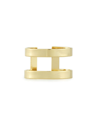 Athens 14k Gold-Plated Ring
