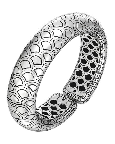 John Hardy Naga Silver Bold Flex Cuff