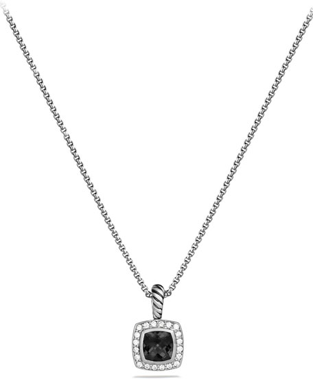 David Yurman Albion Necklace with Onyx and Diamonds