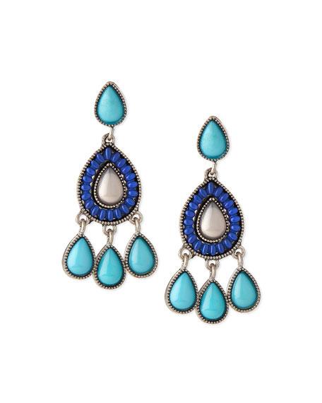 Jules Smith Teardrop Chandelier Earrings