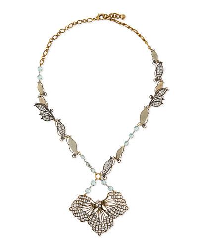 Vine Cactus Flower Necklace