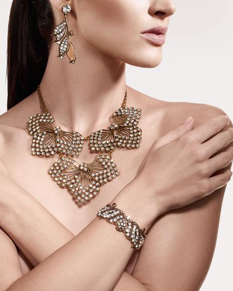 Thicket Crystal Cuff Bracelet