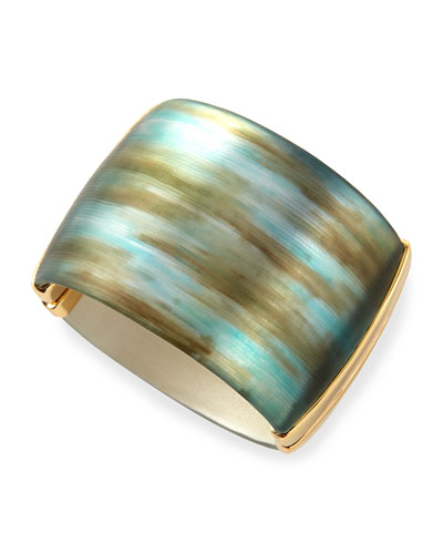 Liquid Metal Hinge Bracelet