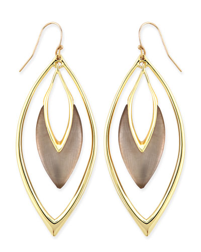 Orbiting Marquise Drop Earrings