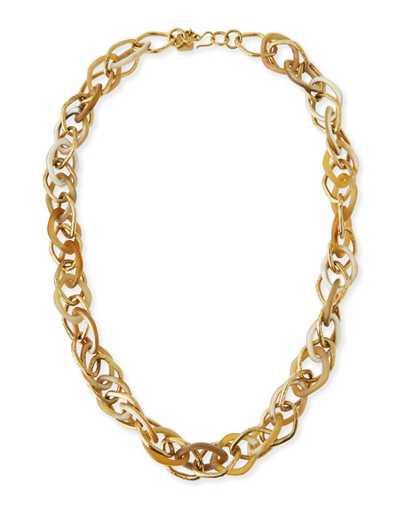 Ashley Pittman Kamba Light Horn Necklace