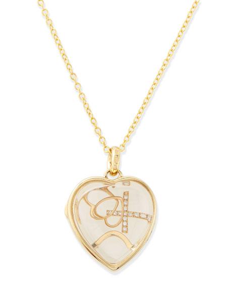Loquet London Love Charm Locket Necklace