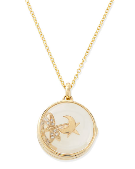 Loquet London Hope Charm Locket Necklace