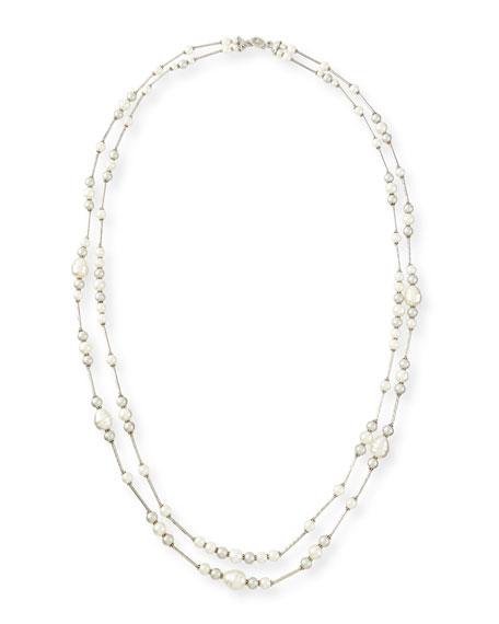 Jose & Maria Barrera Double-Strand Simulated-Pearl Necklace