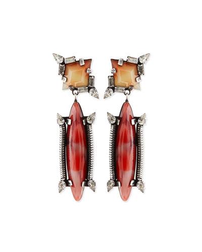 Marla Crystal Drop Earrings