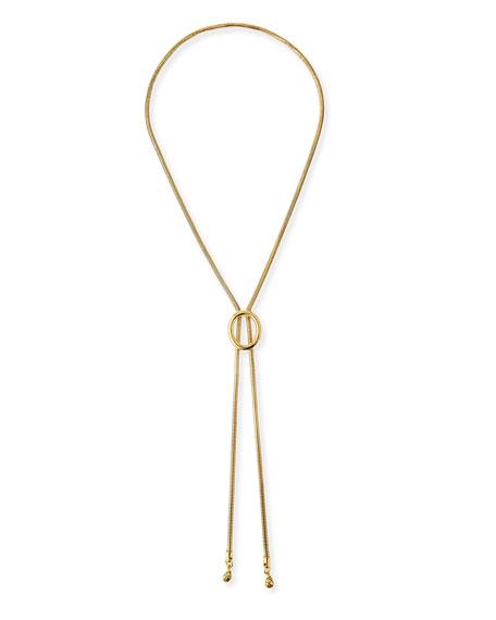 Diane von Furstenberg Gemma Lariat Slide Necklace