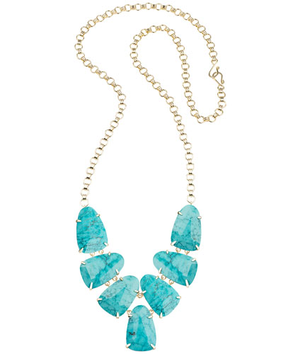 Harlie Necklace, Turquoise