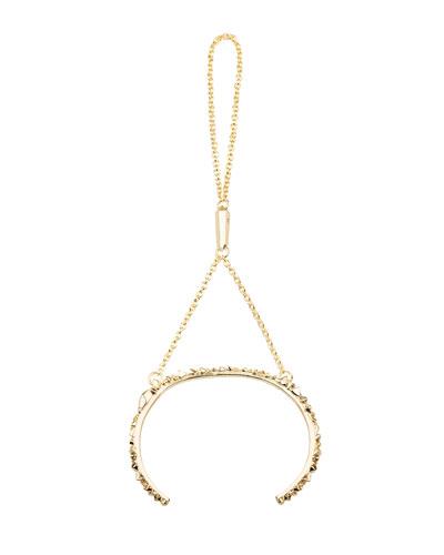 Kendra Scott Yasmin Hand Chain, Gold Plate