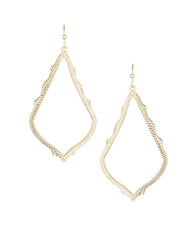 Sophee Earrings, Gold Plate