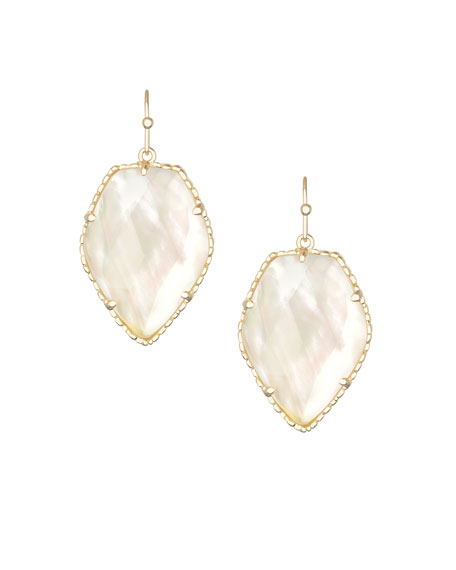 Corley Earrings, Pearlescent