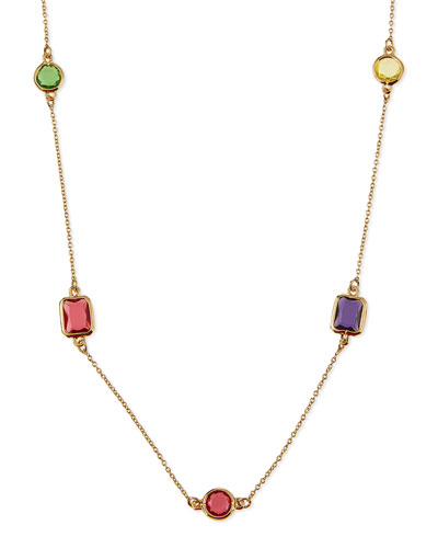 scatter station wrap necklace, 40""