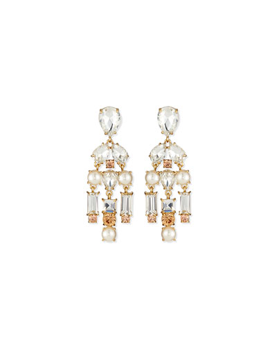 twinkle fete chandelier earrings