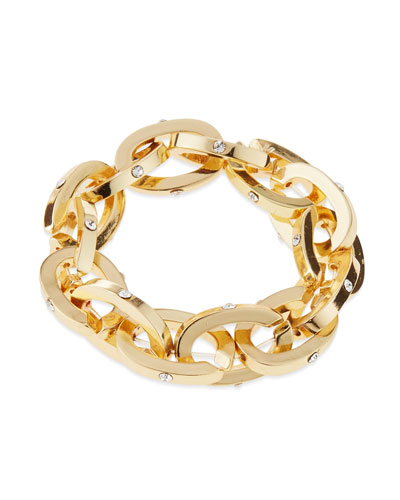 Chain Link Stretch Bracelet