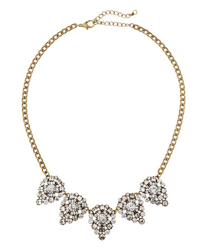 Catharine Crystal Necklace