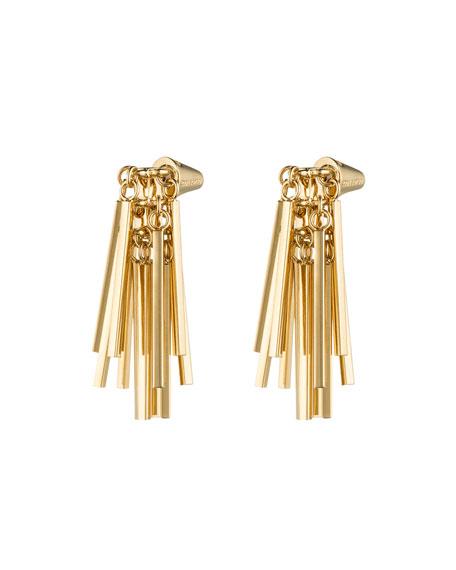 Gold-Plated Fringe Earrings