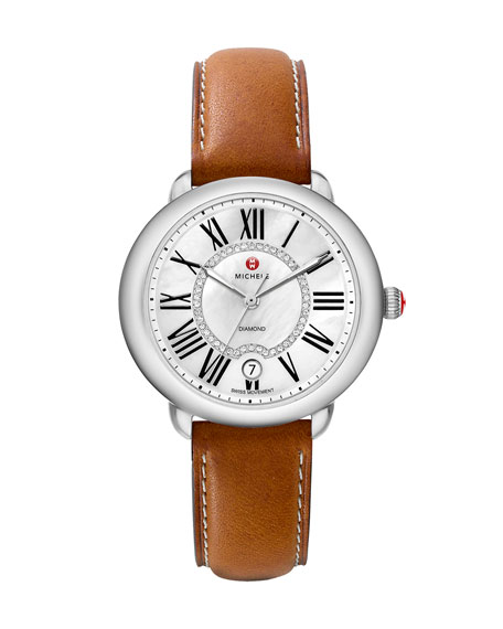 16mm Leather Strap, Tan
