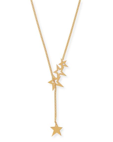 Jennifer Zeuner Lake Star Lariat Necklace with Diamond