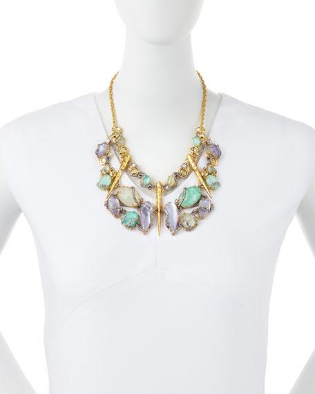 Elements Rocky Vine Bib Necklace